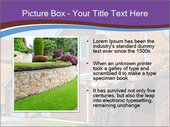 Red brick house PowerPoint Template - Slide 13