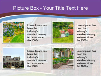 Red brick house PowerPoint Templates - Slide 14