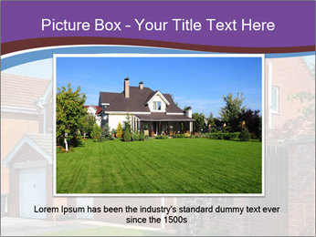 Red brick house PowerPoint Template - Slide 15