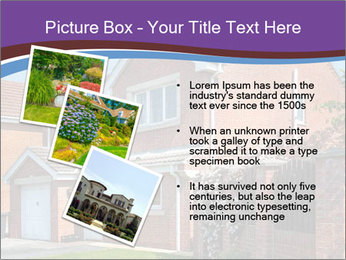 Red brick house PowerPoint Templates - Slide 17