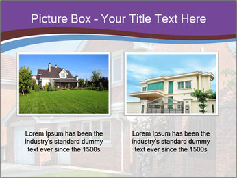 Red brick house PowerPoint Templates - Slide 18