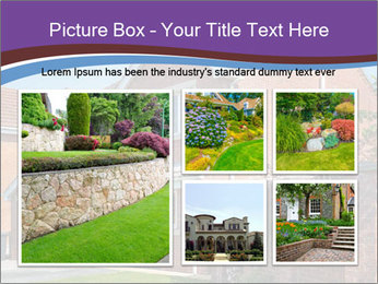 Red brick house PowerPoint Templates - Slide 19