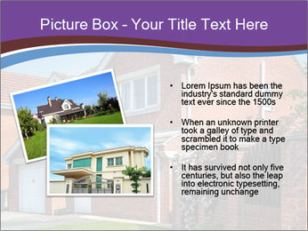 Red brick house PowerPoint Templates - Slide 20
