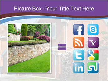 Red brick house PowerPoint Template - Slide 21