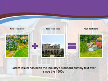 Red brick house PowerPoint Template - Slide 22