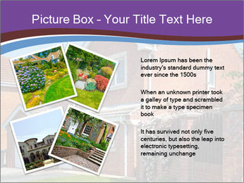 Red brick house PowerPoint Templates - Slide 23