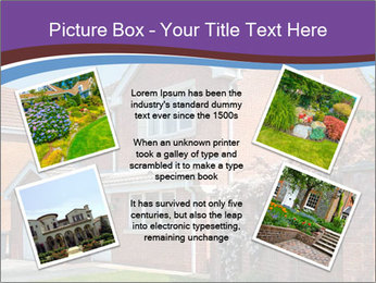 Red brick house PowerPoint Template - Slide 24