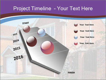 Red brick house PowerPoint Templates - Slide 26