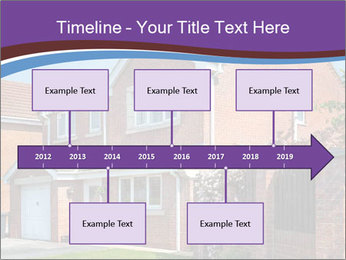 Red brick house PowerPoint Templates - Slide 28