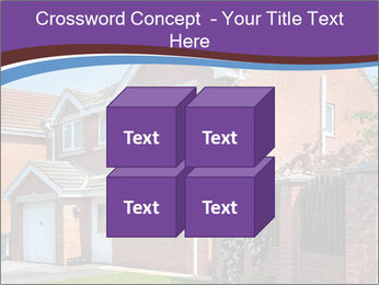 Red brick house PowerPoint Template - Slide 39