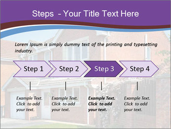 Red brick house PowerPoint Template - Slide 4
