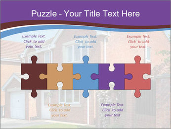 Red brick house PowerPoint Template - Slide 41