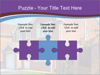 Red brick house PowerPoint Template - Slide 42