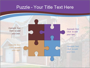 Red brick house PowerPoint Templates - Slide 43