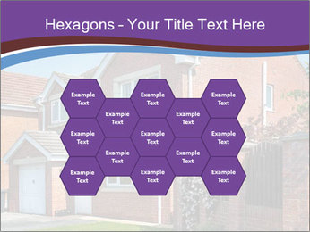 Red brick house PowerPoint Template - Slide 44