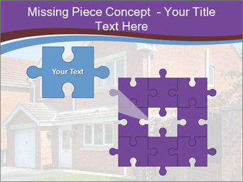 Red brick house PowerPoint Template - Slide 45