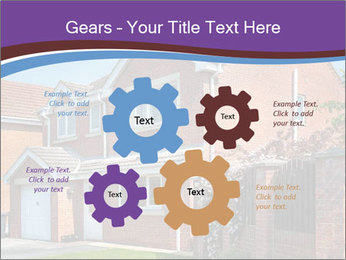 Red brick house PowerPoint Template - Slide 47