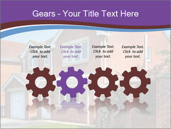 Red brick house PowerPoint Template - Slide 48