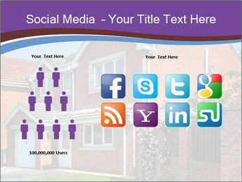 Red brick house PowerPoint Template - Slide 5