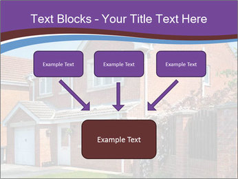 Red brick house PowerPoint Templates - Slide 70