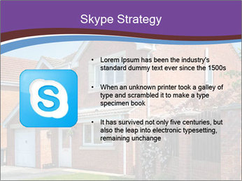 Red brick house PowerPoint Template - Slide 8
