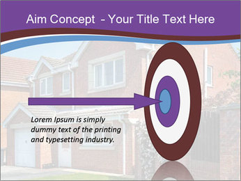 Red brick house PowerPoint Templates - Slide 83