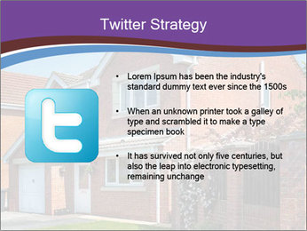 Red brick house PowerPoint Templates - Slide 9