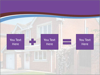 Red brick house PowerPoint Template - Slide 95