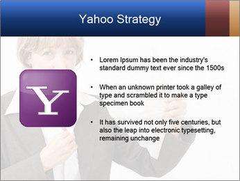 Businesswoman PowerPoint Template - Slide 11