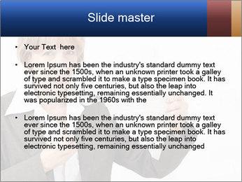 Businesswoman PowerPoint Template - Slide 2
