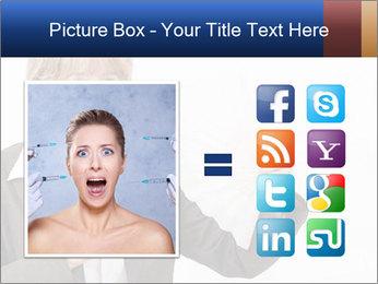 Businesswoman PowerPoint Template - Slide 21
