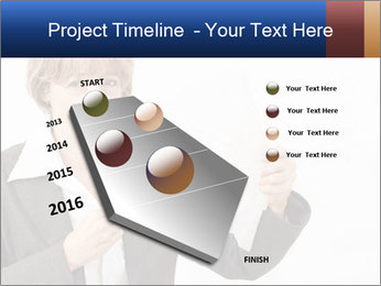 Businesswoman PowerPoint Template - Slide 26