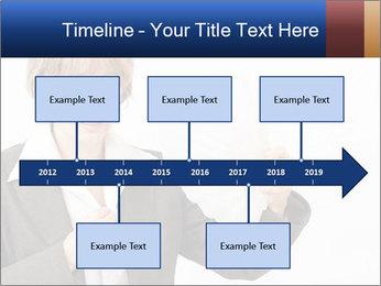 Businesswoman PowerPoint Template - Slide 28