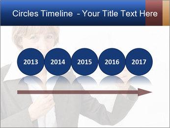Businesswoman PowerPoint Template - Slide 29