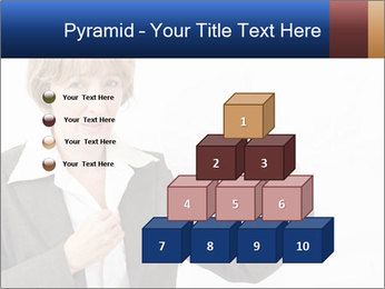 Businesswoman PowerPoint Template - Slide 31