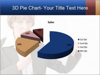 Businesswoman PowerPoint Template - Slide 35