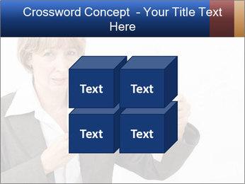 Businesswoman PowerPoint Template - Slide 39