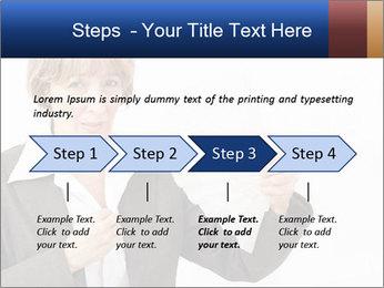 Businesswoman PowerPoint Template - Slide 4