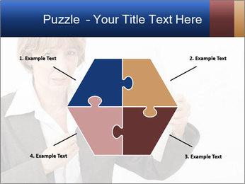Businesswoman PowerPoint Template - Slide 40