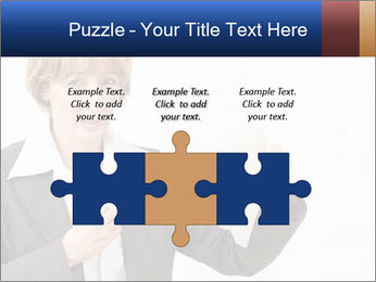 Businesswoman PowerPoint Template - Slide 42