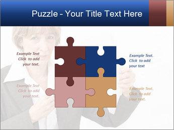 Businesswoman PowerPoint Template - Slide 43
