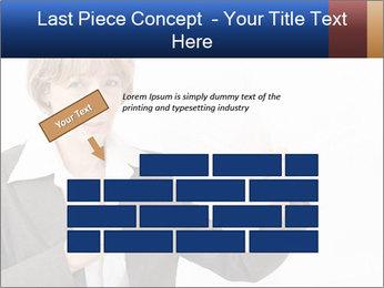 Businesswoman PowerPoint Template - Slide 46