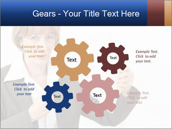 Businesswoman PowerPoint Template - Slide 47