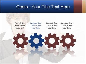 Businesswoman PowerPoint Template - Slide 48