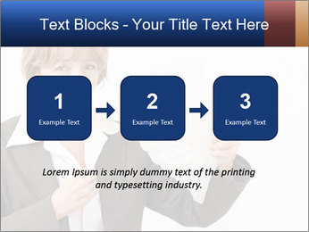 Businesswoman PowerPoint Template - Slide 71