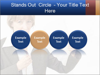 Businesswoman PowerPoint Template - Slide 76