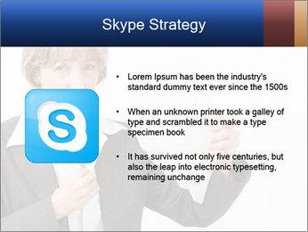 Businesswoman PowerPoint Template - Slide 8