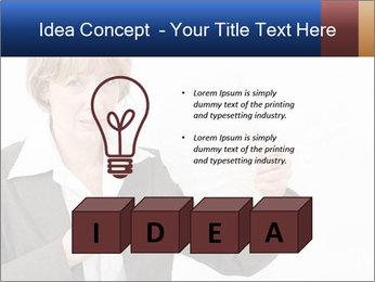 Businesswoman PowerPoint Template - Slide 80