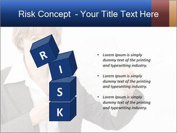 Businesswoman PowerPoint Template - Slide 81