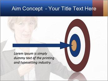 Businesswoman PowerPoint Template - Slide 83